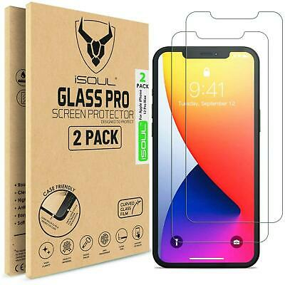Tempered Glass Screen Protector For IPhone 12 Mini Pro Max 11 10 XR 8 7 [2 Pack] • 3.95£