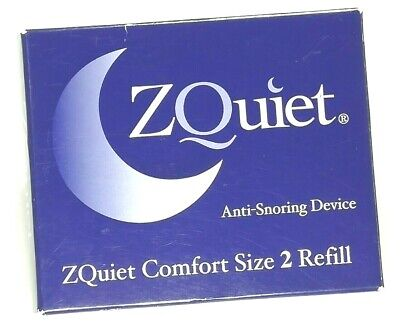 $ CDN53.14 • Buy ZQuiet Anti-Snoring Device SINGLE Size 2 Refill ZQuiet Comfort (ZQRC2-BX)