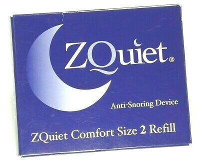 AU54.44 • Buy ZQuiet Anti-Snoring Device SINGLE Size 2 Refill ZQuiet Comfort (ZQRC2-BX)