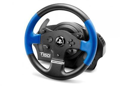 Thrustmaster T150 Force Feedback (PS4 / PS3 / PC) Racing Simulator Wheel Pedals • 150£