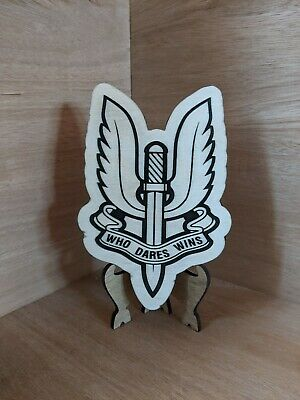 21 SPECIAL AIR SERVICE SAS Regiment Mess Military Badge Plaque • 19.99£