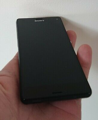 Sony Xperia Z3 Compact - 16GB - Black (Unlocked) Smartphone - Good Condition  • 37.99£