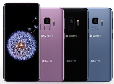 $ CDN216.13 • Buy Samsung Galaxy S9 G960U GSM Factory Unlocked Smartphone AT&T T-Mobile ScreenLine