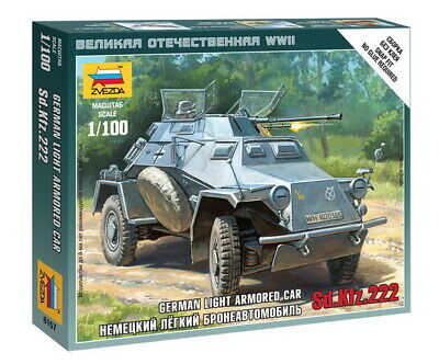 AU10 • Buy Zvezda 1/100 SdKfz.222 Armoured Car