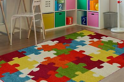 Modern Style Rugs Colour Pop Puzzle Rug 100/150 • 19.99£