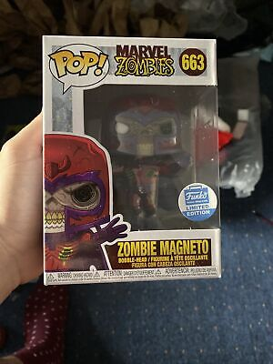 Zombie Magneto Funko Pop Vinyl #66 Marvel Zombies Funko Shop Exclusive X Men  • 28£