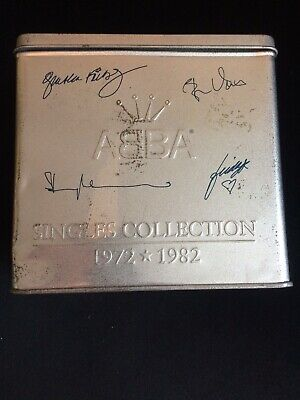 ABBA SINGLES COLLECTION.29 CDs IN TIN • 10.50£