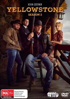 AU34.79 • Buy YELLOWSTONE : Season 2 : NEW DVD