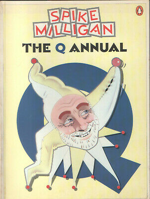 Spike Milligan (goons' Legend) - The Q Annual - 1980 - Nice Copy - Very Rare! • 1£