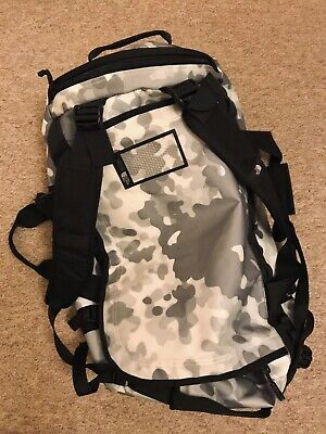 The North Face Base Camp Medium Duffel Travel Bag 71L,Snow Camouflage • 65£
