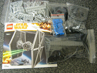 Lego Star Wars Complete Tie Fighter From Set 75211 + Instructions No Minifigs   • 34.99£
