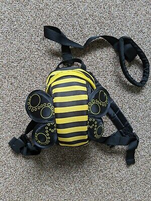 Boys Girls Baby Toddler Bumble Bee Wings Rucksack Backpack With Reins Anti Lost  • 2.50£