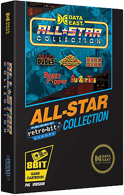 Retro-Bit Europe Data East All Star Collection PAL Version NES Cartridge For NES • 32.10£