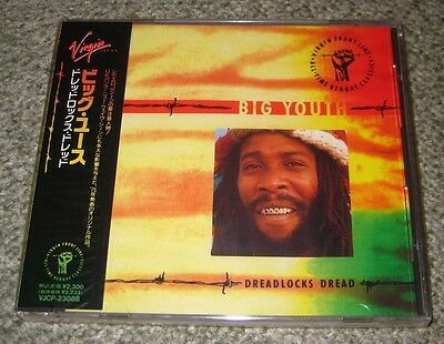 BIG YOUTH Japan PROMO Original 1991 CD Sealed REGGAE More Listed DREADLOCKS DREA • 21.70£