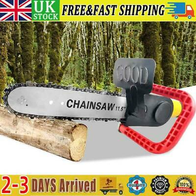 £16.87 • Buy Uk 11.5 Inch Chainsaw Bracket Grinder Into Chain Saw Woodworking Cutting Tools