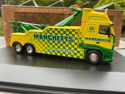 Oxford Diecast Volvo Recovery Truck Manchetts 1:76th Scale • 22.50£