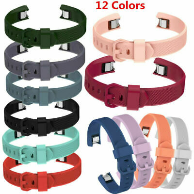 AU4.88 • Buy For Fitbit Alta HR Sports Silicone Replace Wrist Band Buckle Strap Bracelet