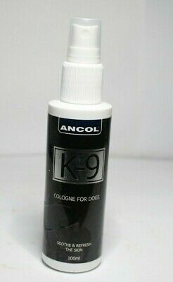 Ancol Dog Cologne K9 Deodorant Spray 100ml PR648 011 • 6.99£