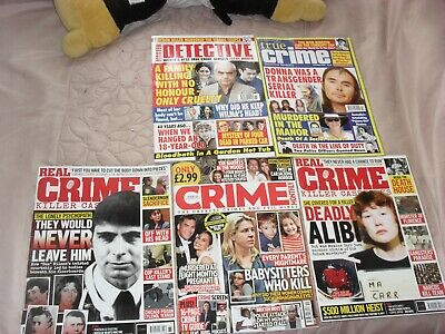 True Crime Magazines Bundle OF 5 All 2020    • 5.85£