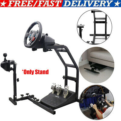 Steering Wheel Stand Racing Simulator Gt Gaming For Ps4 Logitech G920 G27 T300s • 45.99£