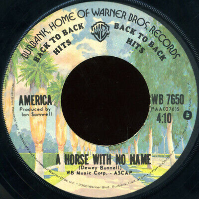 America  - A Horse With No Name / I Need You (7 , Single, RE) • 7.99£