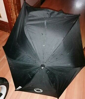 Bugaboo Parasol In Black  NO CLIPS INCLUDED **Free UK Postage  • 16£