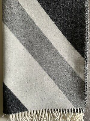 'Union Jack' Throw In Shades Of Grey. For A Sofa, Chair Or Bed. Bronte By Moon   • 48.50£