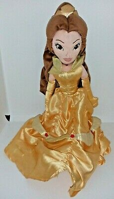 Disney Store Exclusive Princess Belle 22  Soft Plush Doll Beauty & The Beast  • 12.99£