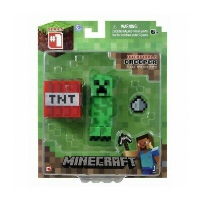 AU14.99 • Buy Minecraft Overworld Core Creeper Action Figure Series 1 NEW