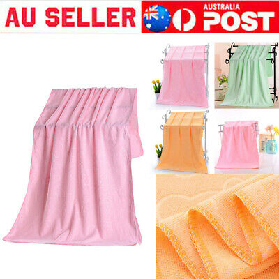 AU10.99 • Buy Microfiber Towel Gym Sport Footy Travel Camping Swimming Beach Bath Microfibre