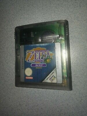 AU94.50 • Buy Legend Of Zelda: Oracle Of Ages- GENUINE (Game Boy Color) SAVE BATTERY WORKING