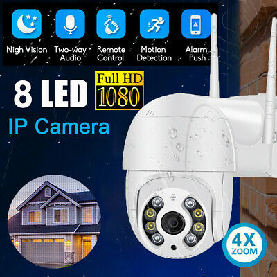 UK ICSEE 1080P WIFI IP Camera Dome Wireless Outdoor CCTV HD Home Security IR Cam • 25.99£