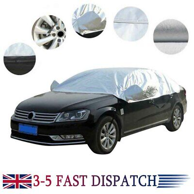 Half Car Top Roof Sun UV Rain Protection Cover Waterproof Breathable Outdoor • 13.18£