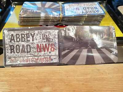 £1 • Buy Abbey Road Bus Pass Credit Travel Rail Slim Id Holder Wallet For Oyster Card
