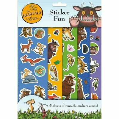 £2.35 • Buy The Gruffalo Story Set 5 Sheets Of Reusable Character Stickers For Children 3187