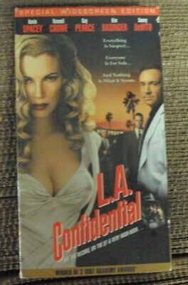 AU1.35 • Buy L.A. CONFIDENTIAL VHS Kevin Spacey Russell Growe Guy Pearce Kim Basinger