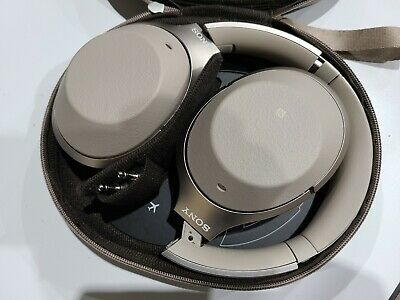 $ CDN98 • Buy Sony WH-1000XM2 Over The Ear Headphones - Champagne (power Button Not Working)