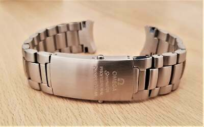 20mm Watch Strap Bracelet For Omega Seamaster Professional Planet Ocean 600 • 80£