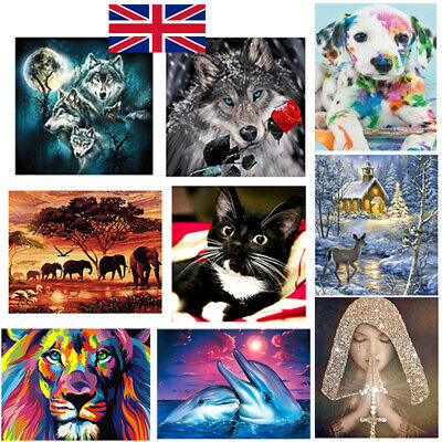5D Diamond Painting Embroidery Cross Craft Stitch Arts Kit Mural Home Decor W • 3.54£