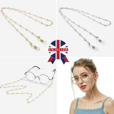 Eye Glasses Spectacles Sunglasses Eyewear Chain Lanyard Necklace Holder Cord W • 3.94£
