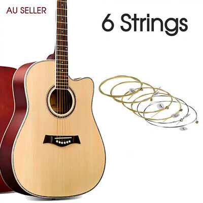 AU5.20 • Buy Acoustic Guitar Strings With 2 Free Picks Steel Civin Premium Light Universal