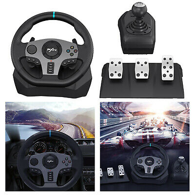 PXN V9 Racing Game Steering Wheel Pedals Set Bus Driving Simulator For PS4/3 • 166.49£