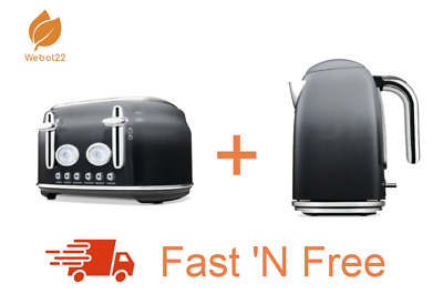 AU133.50 • Buy New Ombre 4 Slice Toaster And 1.7L Kettle Combo Set Free Shipping