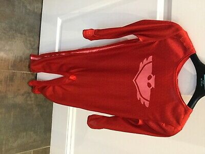 PJ Masks Costume Age 3-4 With Cape And Mask. • 4£