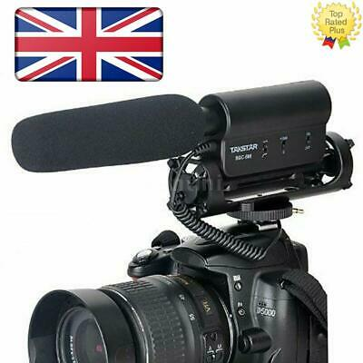 Takstar SGC-598 Video Shotgun Condenser Mic Microphone For Canon Nikon Camera UK • 22.54£