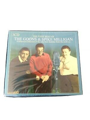 The Goons And Spike Milligan 3 Cd Boxed Set • 4£