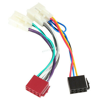 $12.99 • Buy Radio Stereo Install ISO Wire Harness For Toyota Tacoma RAV4 Corolla Prius Model