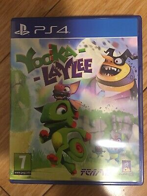 AU35 • Buy Yooka-Laylee PS4 New: Never Used