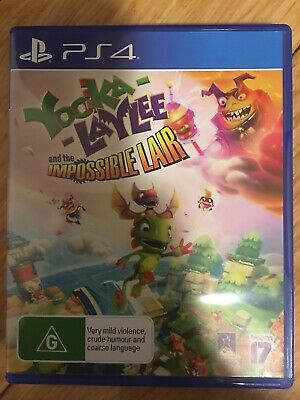 AU35 • Buy Yooka-Laylee And The Impossible Lair PS4 New: Never Used