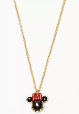 $ CDN80.23 • Buy Kate Spade Disney Minnie Mouse Mini Pendant Necklace Jewelry NWT Sold Out Style